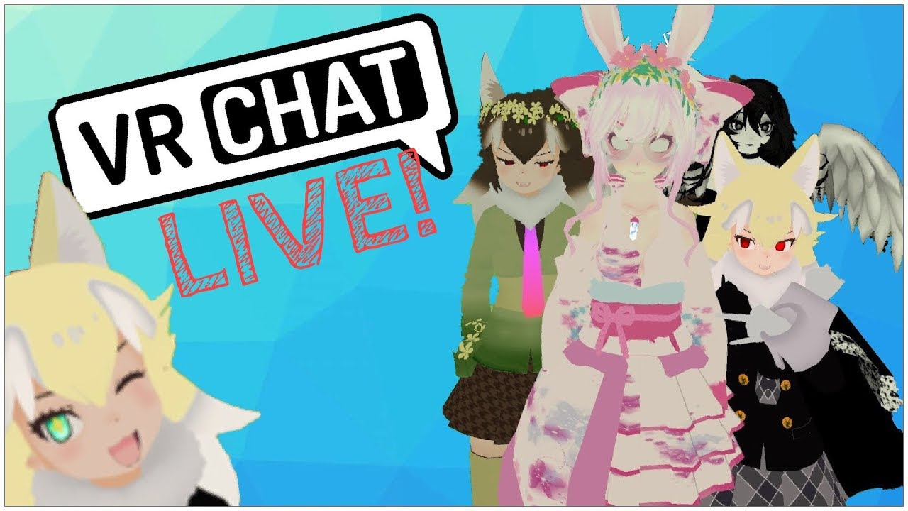 VRChat LIVE! | OH NO, WHAT IS HAPPENING? - YouTube