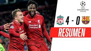 Liverpool - FC Barcelona [4-0] | GOLES | Semifinales (VUELTA) | UEFA Champions League