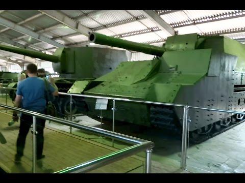 Tank museum in Kubinka. Heavy tanks, SA  The Soviet Union. Part 4.