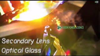 FRESNEL LENS secondary lens Solar Death Ray