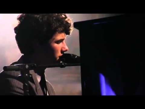 Nick Jonas sweetest words to his fans live at wiltern .flv