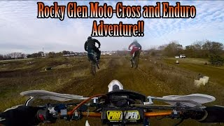 Rocky Glen Off-Road Adventure!! || Milwaukee Supermoto || 2016