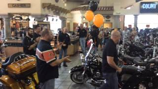 Surprise Birthday Motorcycle