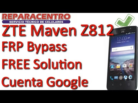 How To Unlock At&t ZTE Maven Z812 by Out Source Repairs