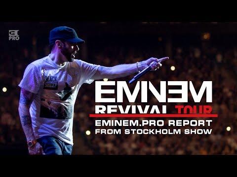 Revival Tour: Eminem.Pro Report From Eminem's Stockholm Show. Read On Eminem.Pro