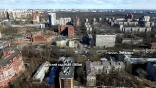 ЖК«Шерлок Хаус»— аэросъемка СПБГуру. Март 2017.