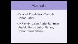 Jawatan Kosong Pejabat Pendidikan Daerah Johor Bahru