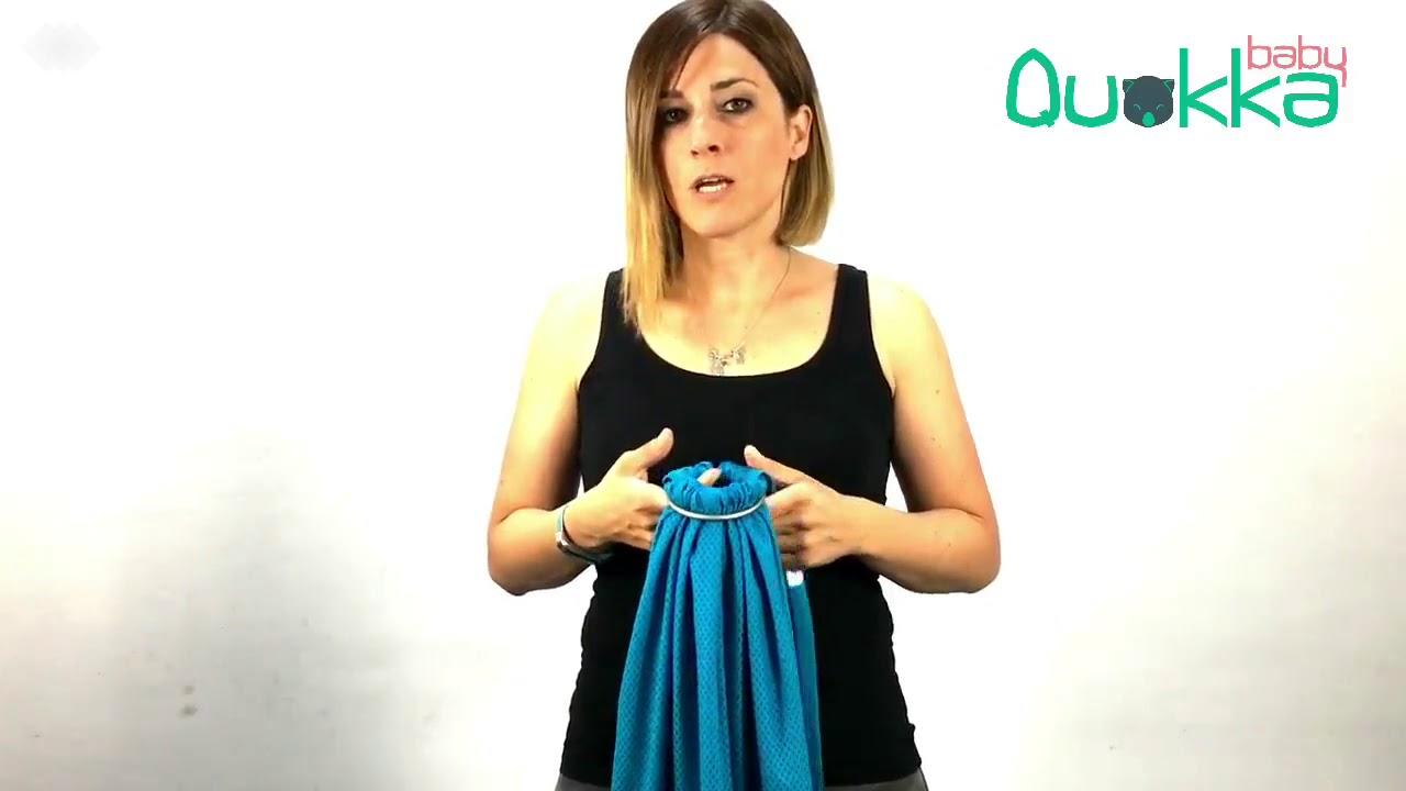 Bandolera Portabebés Quokkababy | Tejido Cool Mesh