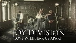 Скачать Joy Division Love Will Tear Us Apart OFFICIAL MUSIC VIDEO