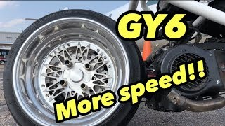 How To Make A GY6 Faster