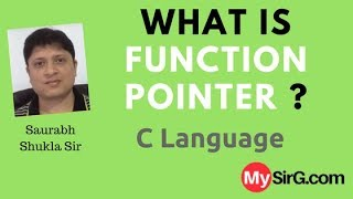What is function Pointer in C language? (in Hindi)