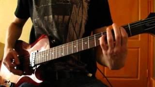 Epica - Sensorium (guitar cover, cort z42, line-in, guitar rig)