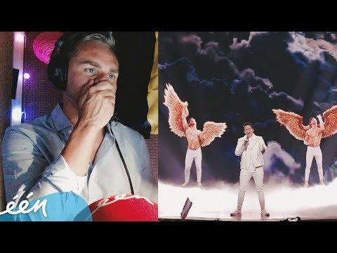 De beste commentaren van Peter Van de Veire in de tweede halve finale van het Songfestival