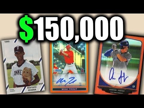 10 SUPER RARE BASEBALL CARDS WORTH A TON OF MONEY - BUY BASEBALL CARD PACKS NOW!!
