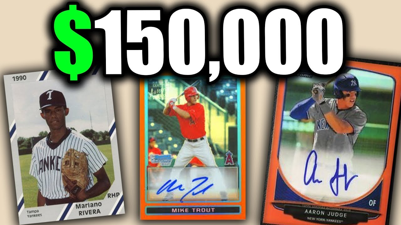 10 Super Rare Baseball Cards Worth A Ton Of Money Buy Baseball Card Packs Now