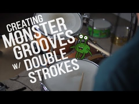 Creating Monster Grooves w/ Double Strokes