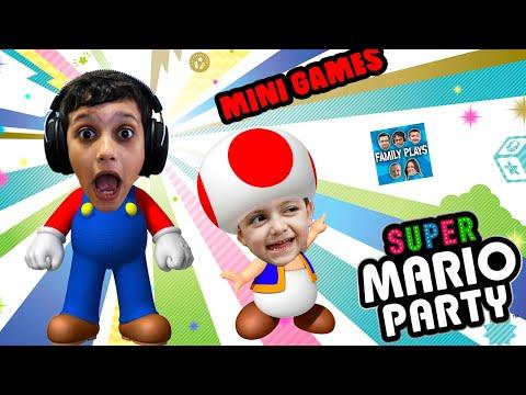 Vamos Jogar SUPER MARIO PARTY #3 Family Plays