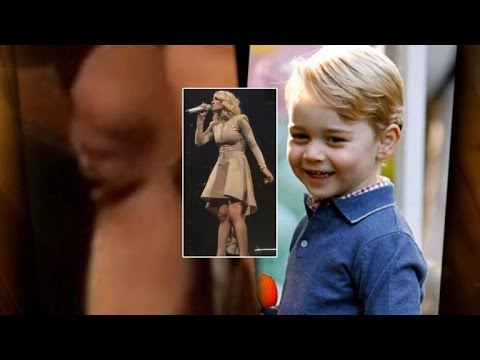 People Are Freaking Out That Carrie Underwood's Knee Looks Like Prince George