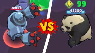 能量99熊vs首領99 power-ups Nita Huber bear v.s Boss in takedown