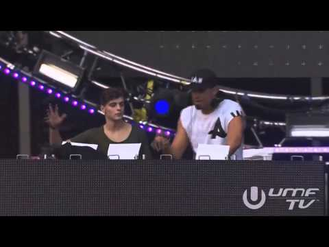 Afrojack ft Martin Garrix - Turn Up The Speakers (UMF 2014)