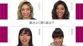 EGstyleの一部です。 E-girls Dream Happiness Flower Shizuka Aya Ami ...