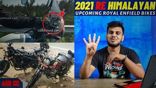 2021 RE HIMALAYAN Launch Soon  | Upcoming Royal Enfield Bikes in 2021  | 4 changes in Himalayan