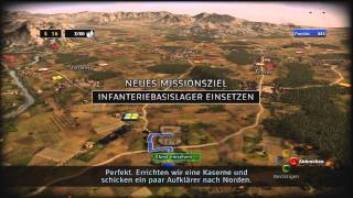 RUSE Xbox 360 Demo Gameplay Part 1/2 (Ger)