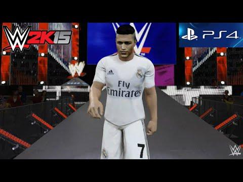 WWE 2K15 - Cristiano Ronaldo Entrance [PS4] - YouTube