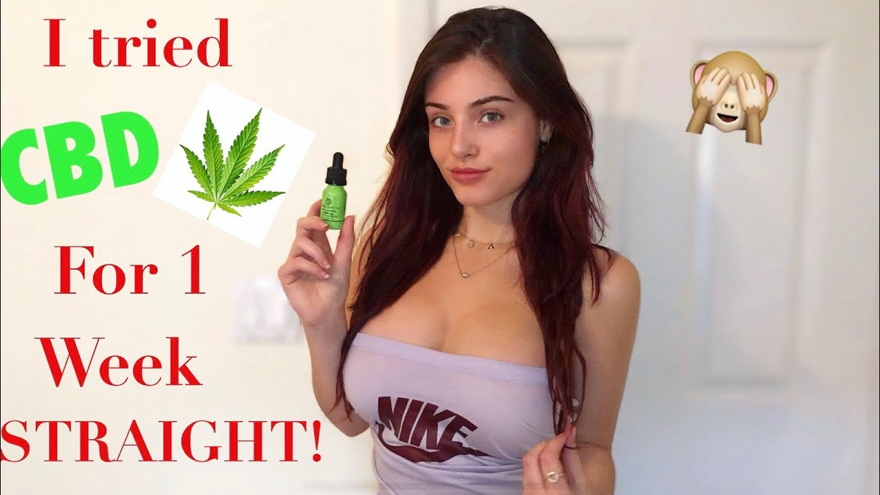 I TRIED CBD FOR ONE WEEK STRAIGHT...& this is what happened (depression & endometriosis trea
