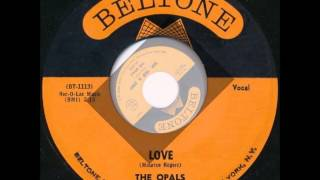 Opals - Hop, Skip and Jump / Love - Beltone 2025 - 1962