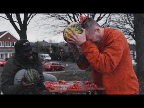 DESTROYING WATERMELONS WITH HEAD! *CONCUSSION*