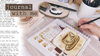 Journal with Me The Coffee Shop: Writing a Short Story for Inkfeathers Publishing Silent Studio Vlog