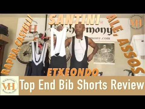 Top End Bib Shorts Review Rapha, Castelli, Assos, Ale, Etxeondo