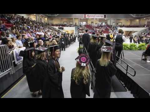 Northwest Florida State College 2017 Commencement.