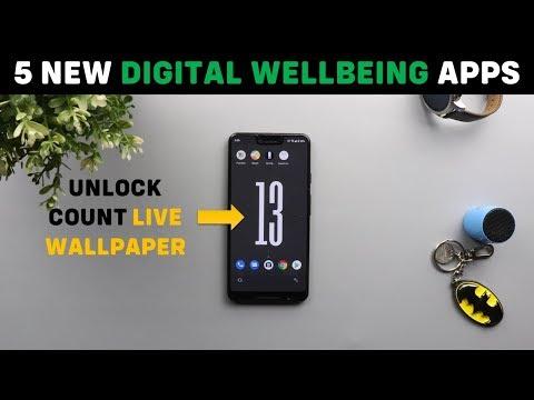 5 New Digital Wellbeing Apps By Google - Unlock Clock, Post Box, We Flip, Desert Island & Morph