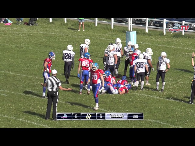 2017 - Sussex Thunder vs Oxford Saints - Highlights