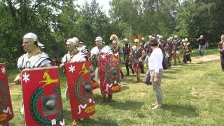 Romeinen op de Kopse Kopf in Nijmegen