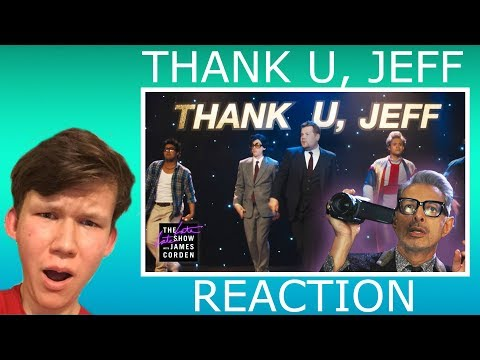 thank u, jeff -- Ariana Grande Parody REACTION ( The Late Late Show with James Corden )