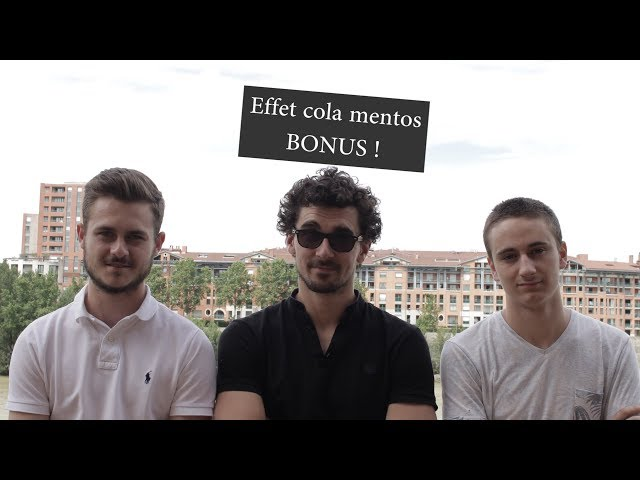Cola mentos BONUS ! #TIPE