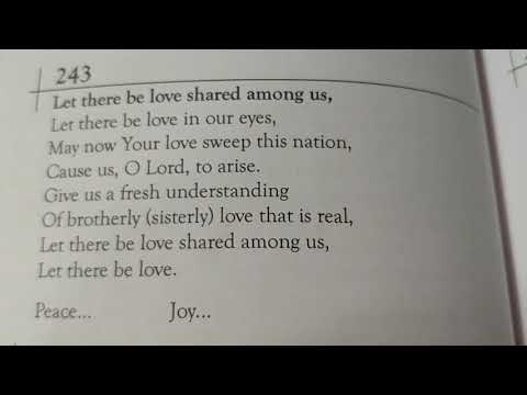 Let there be love shared among us-English hymn-45