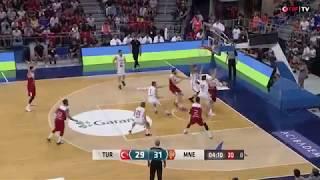Türkiye - Karadağ Hazırlık Maçının Güzel Anları