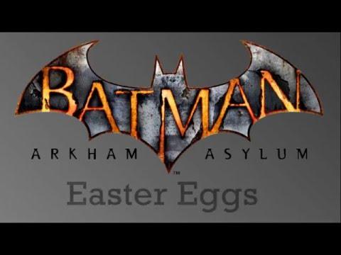 Batman Arkham Asylum Easter Eggs Part 2...