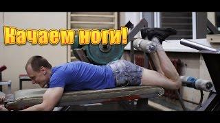 Как накачаться худому? Тренировка ног.(В этом видео я покажу свою программу тренировки ног ) + плечи и бицепс. Группа ВК https://vk.com/public98953354., 2015-07-03T09:36:27.000Z)