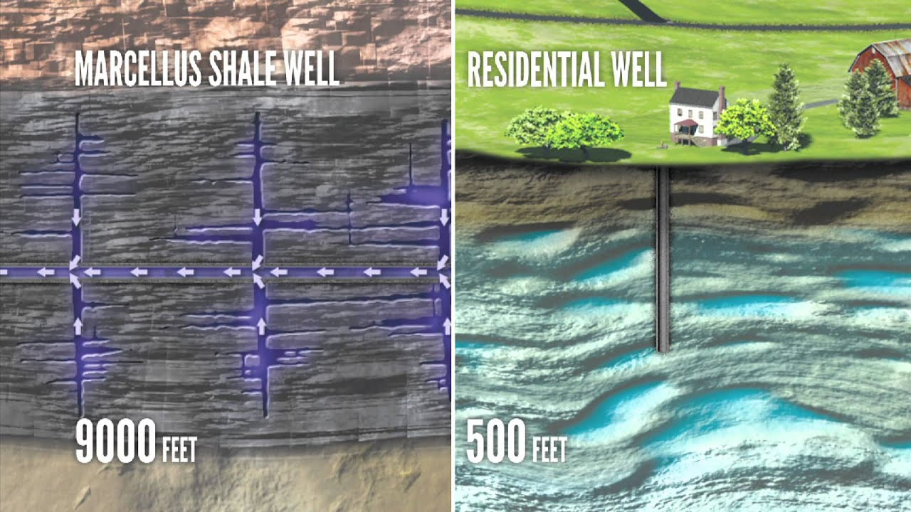 Marcellus shale: How deep do they have to drill?