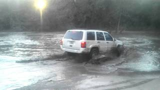 Jeepin in the mud