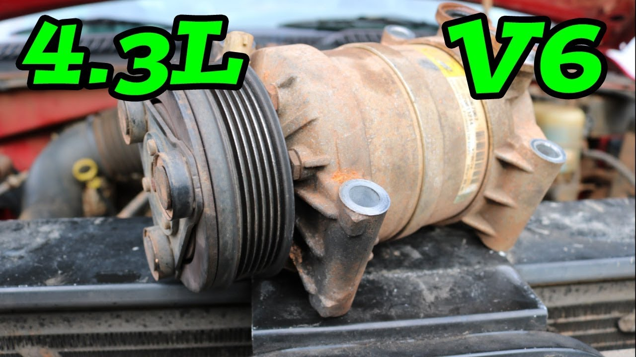 Diy How To Remove Replace Ac Compressor 4 3l 1997 2006 Chevy