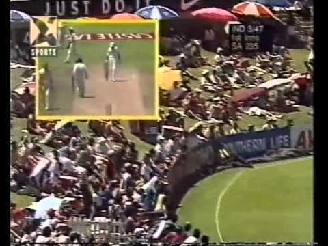 Allan Donald 5/40 vs India - 1st test, 1st innings Durban 1996