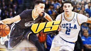 COULD LONZO BALL ACTUALLY BEAT STEPHEN CURRY IN A 1 on 1? NBA 2K17 SIMULATION