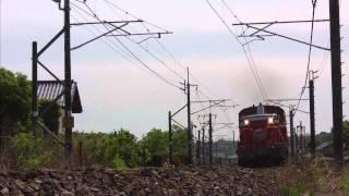 「DLレトロ碓氷」DD51 842+旧型客車+D51 498(2015年5月5日)
