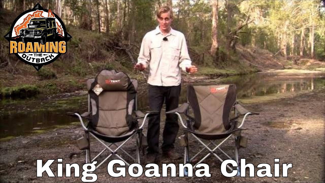 oztent king kokoda chair review antique chinese chairs goanna youtube